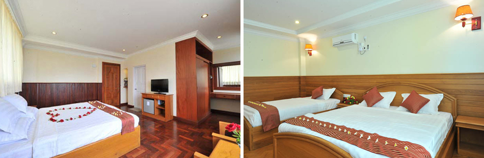 Rooms | Ayarwaddy River View Hotel